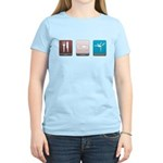 Eat, Sleep, Gymnastics Women's Light T-Shirt