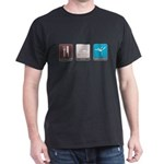 Eat, Sleep, Gymnastics Dark T-Shirt