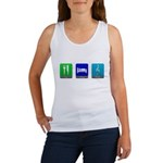 Eat, Sleep, Music Women's Tank Top