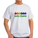Rainbow Shamrock Lucky Charms Light T-Shirt