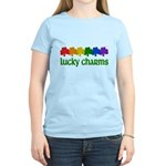 Rainbow Shamrock Lucky Charms Women's Light T-Shirt