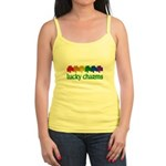 Rainbow Shamrock Lucky Charms Jr. Spaghetti Tank