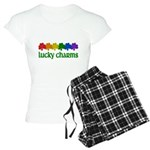 Rainbow Shamrock Lucky Charms Women's Light Pajamas