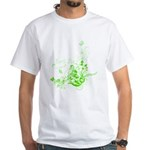 Earth Day Swirls White T-Shirt