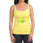 Earth Day Swirls Jr. Spaghetti Tank
