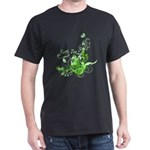 Earth Day Swirls Dark T-Shirt