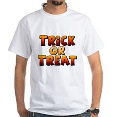 Trick or Treat White T-Shirt