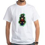 Christmas Caroler White T-Shirt