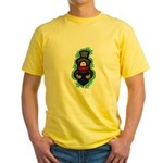 Christmas Caroler Yellow T-Shirt
