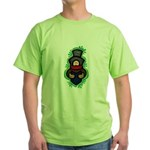 Christmas Caroler Green T-Shirt