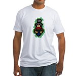 Christmas Caroler Fitted T-Shirt