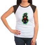 Christmas Caroler Women's Cap Sleeve T-Shirt
