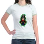 Christmas Caroler Jr. Ringer T-Shirt