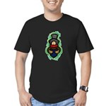 Christmas Caroler Men's Fitted T-Shirt (dark)