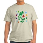 Christmas Design Light T-Shirt