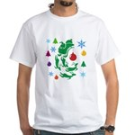 Christmas Design White T-Shirt