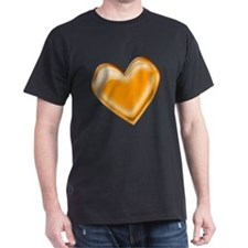 Orange Jelly Heart T-Shirt