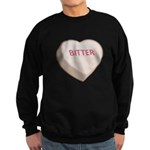 Bitter Candy Heart Dark Sweatshirt (dark)