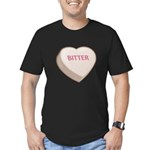 Bitter Candy Heart Men's Fitted T-Shirt (dark)
