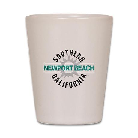 Newport Beach California Shot Glass