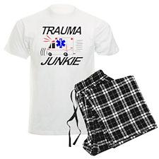 EMT & Star of Life on Back Pajamas