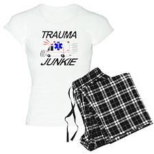 Paramedic Trauma Junkie Pajamas