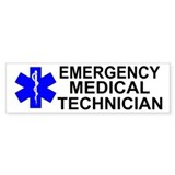 Emergency Medical Technician Car Sticker