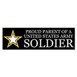 Proud Parent Army Bumper Stickers