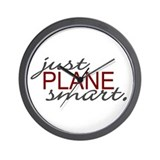Just Plane Smart 2 Wall Clock
