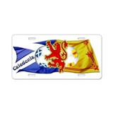 Scotland Football Fashion Aluminum License Plate