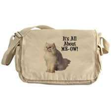 ME-OW Persian Cat Messenger Bag