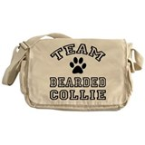 Team Bearded Collie Messenger Bag