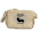 Skye Terriers In Heaven Messenger Bag