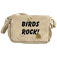 Birds Rock Messenger Bag