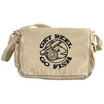 Get Reel Go Fish Messenger Bag