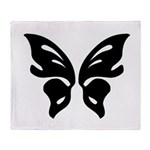 Double Sided Believe Throw Blanket