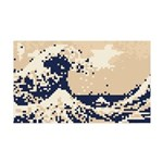 Pixel Tsunami Great Wave 8 Bit Art 35x21 Wall Deca