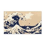 Pixel Tsunami Great Wave 8 Bit Art 20x12 Wall Deca