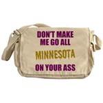 Minnesota Football Messenger Bag