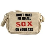 Boston Baseball Messenger Bag
