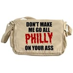 Philadelphia Baseball Messenger Bag