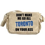 Toronto Baseball Messenger Bag