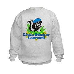 Little Stinker Leonard Kids Sweatshirt