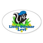 Little Stinker Levi Sticker (Oval)