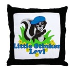 Little Stinker Levi Throw Pillow
