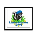 Little Stinker Levi Framed Panel Print