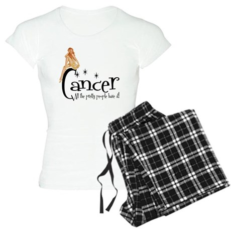 Pretty People have Cancer Women's Light Pajamas