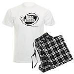 Girlie Fuck Cancer Men's Light Pajamas