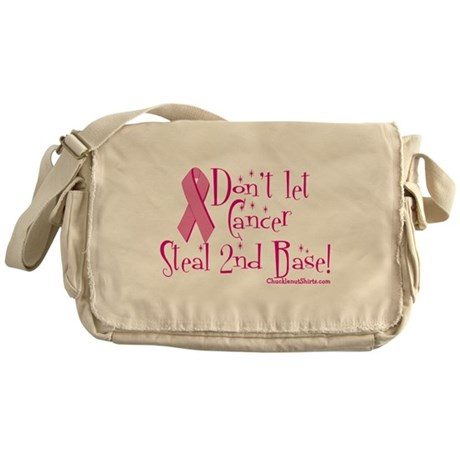 Don't let Cancer Messenger Bag