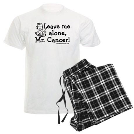 Leave me alone, Mr. Cancer Men's Light Pajamas